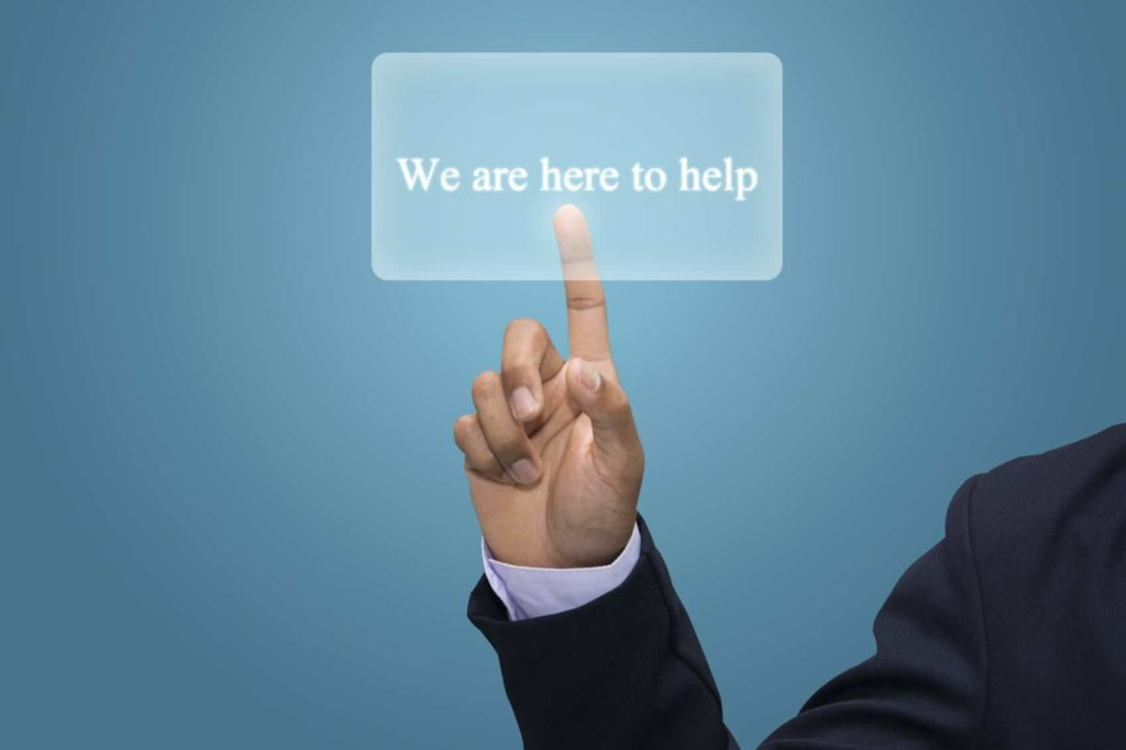 we are here to help with a helping hand