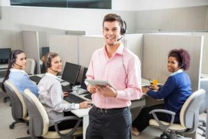 telemarketing call center