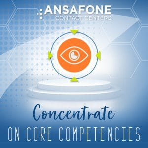 Concentrate on core competencies