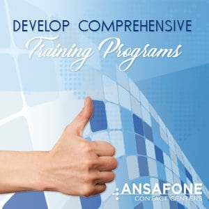 Develop Comprehensive Training Programs