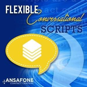 Flexible Conversational Scripts