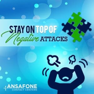 Stay on Top of Negative Attacks