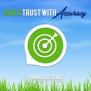 Build Trust With Accuracy