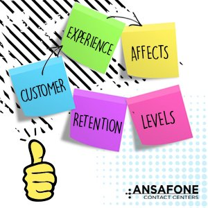 customer experience affects retention levels