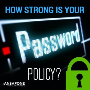 How strong is your password policy?