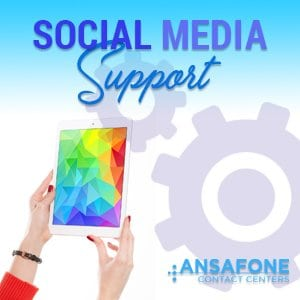 contact center trends, social media support